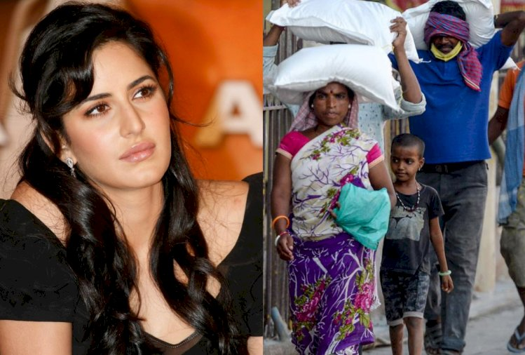 Katrina Kaif came forward to help the daily laborers, made this big announcement