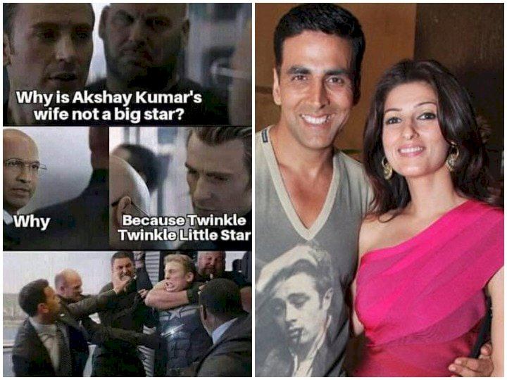 Twinkle Khanna gave a funny reaction to viral memes, said this about 'Twinkle Twinkle Little Star'