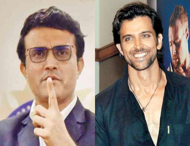 Hrithik will have to do this for the biopic of Sourav Ganguly, 'Dada' told himself