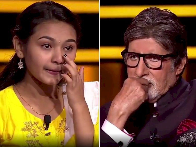 KBC 12: Komal Tukadia, who won the heart of the audience, left the game on the question of 25 lakhs, this question was related to the Kargil war