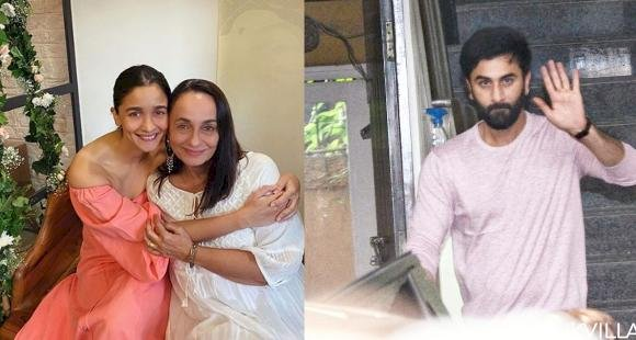 Ranbir Kapoor, along with family, attended Alia Bhatt's mother Soni Razdan's birthday celebrations, see photos