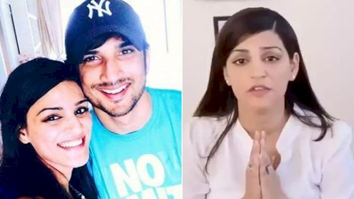 Sushant's sister struggling with stress taking the Support of Bhagavad Gita Read full news