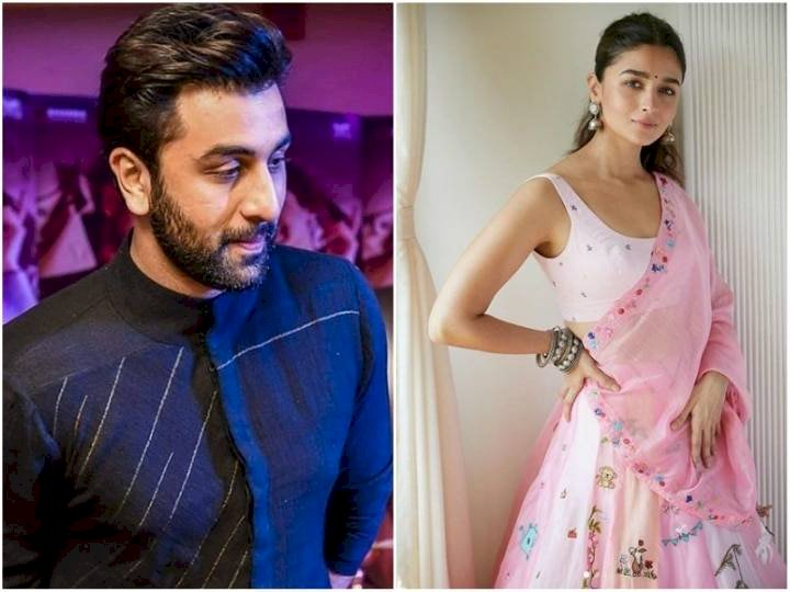 Diwali 2020: Ranbir Kapoor and Alia Bhatt spotted in this look on the occasion of Diwali