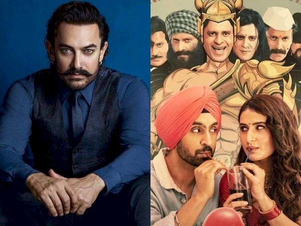 Aamir Khan went to the theater and watched the film 'Suraj Pe Mangal Bhari'