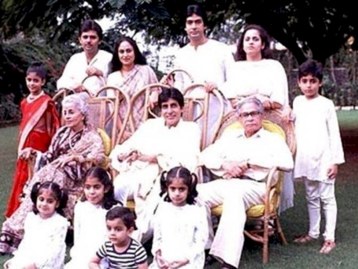 You had not met these members of Amitabh Bachchan's family till now