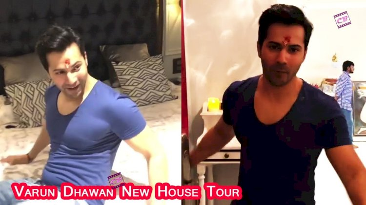 Varun Dhawan lives in this house with new-age bride Natasha, see the entire house from bedroom to hall