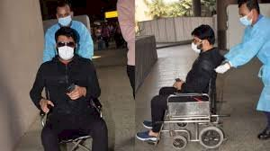 Kapil Sharma sitting on a wheelchair lost his temper after seeing the camera, says abusive video viral